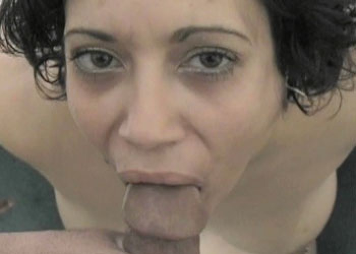 Hazel Angela gets a big facial