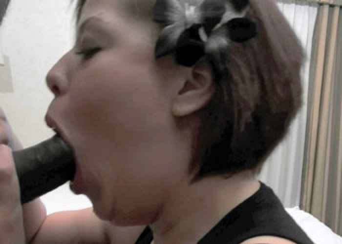 Michelle Haze is sucking some black cock